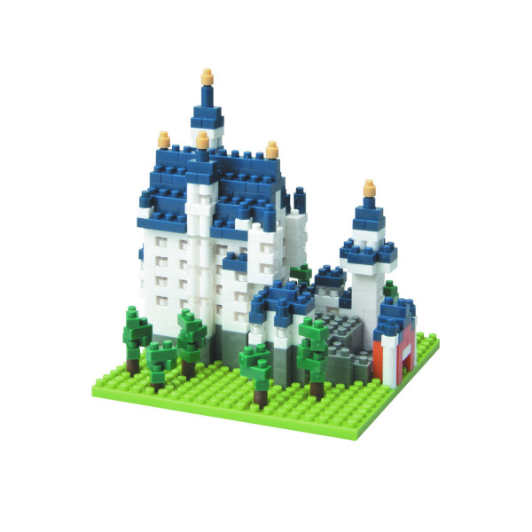 Nanoblock - Schloss Neuschwanstein 550 pcs Level 3