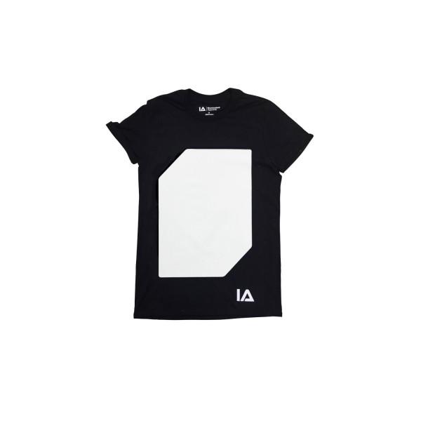 Interactive Glow T-Shirt incl. Keyring Black, S