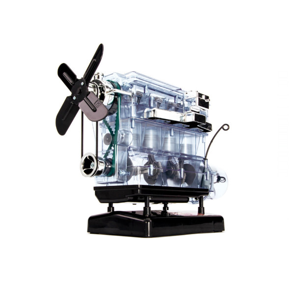 Lernpaket Vierzylinder Motor