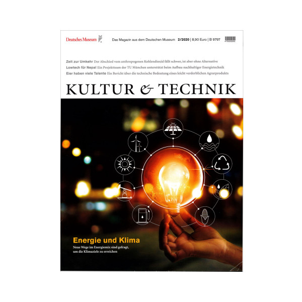Kultur & Technik 02-2020 Energie und Klima