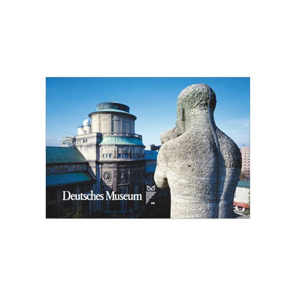 Deutsches Museum Magnetbild - Uhrturm
