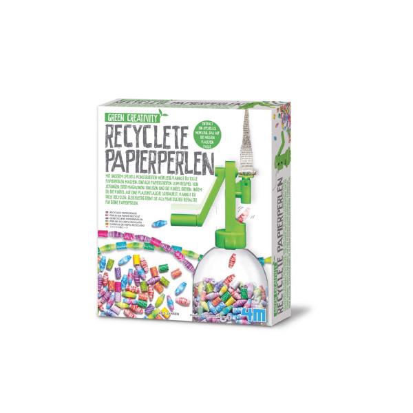 Green Creativity: Recyclete Papierperlen