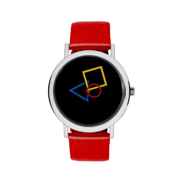 BAUHAUS DESIGN RGB rot-bunt