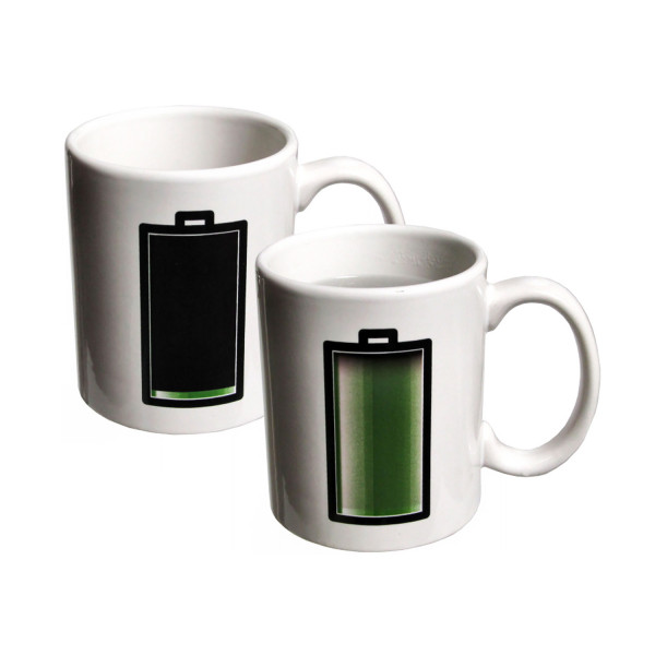 Ceramic Color - Changing Battery Mug