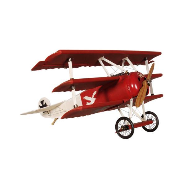 Fokker Roter Baron mit Ständer (klein)