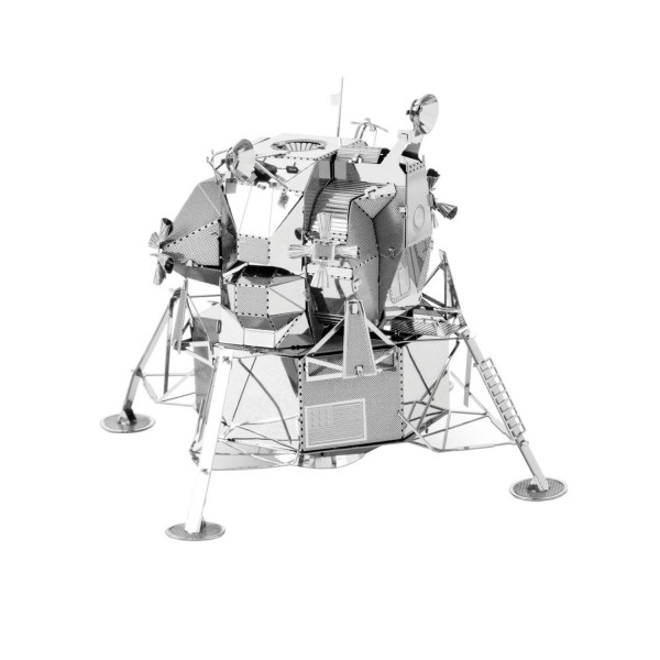 Metal Earth Silver Edition - Apollo Lunar Module