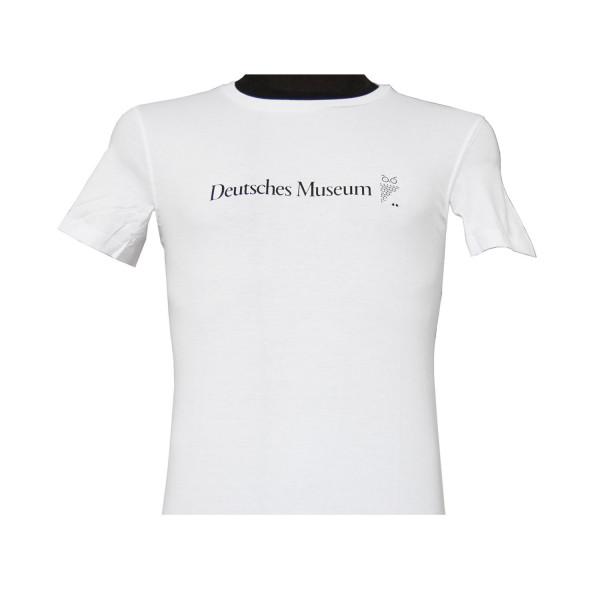 T-Shirt Deutsches Museum, Damen, Weiß, XS