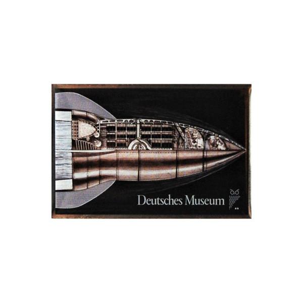Deutsches Museum Pin Rakete