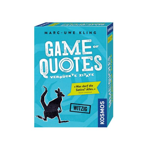 Game of Quotes Verrueckte Zitate