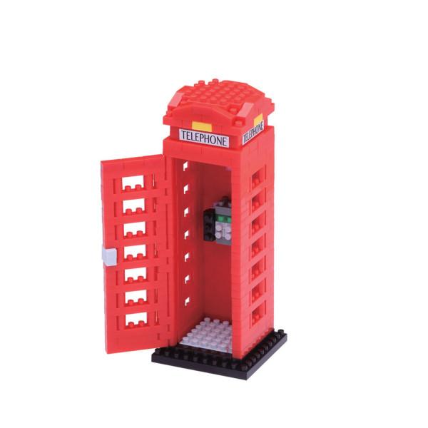 Nanoblock - Telephone Box 390 pcs