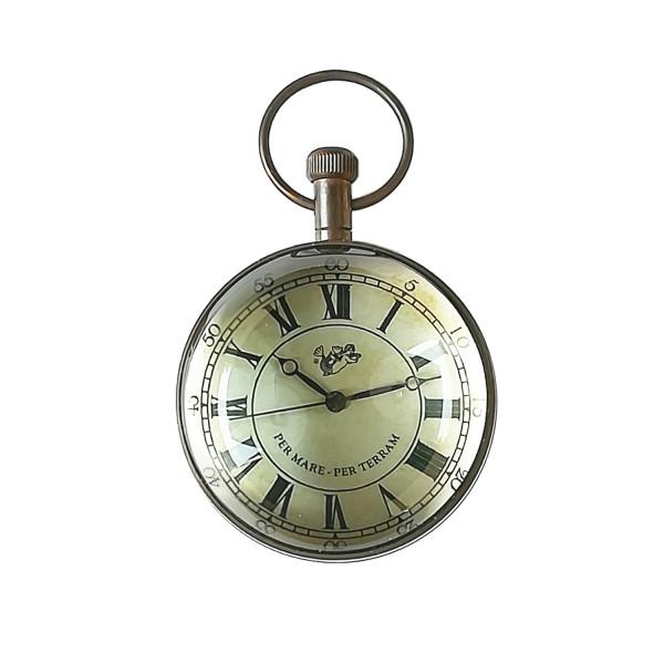 Taschenuhr Eye of Time, Bronze