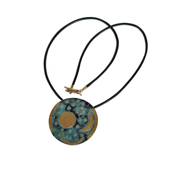 Himmelsscheibe von Nebra als Medallion