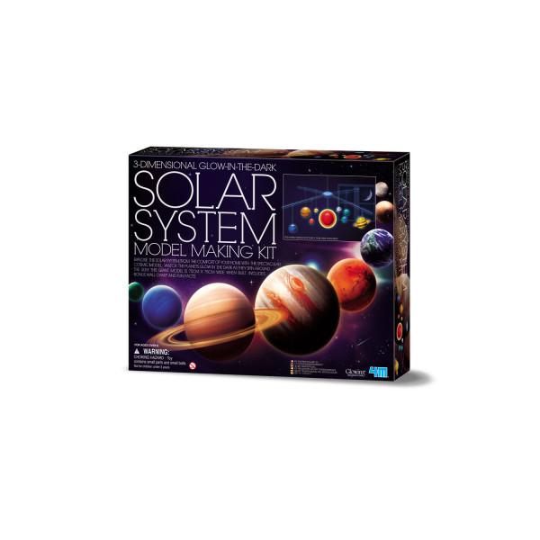 Leucht-Sonnensystem Mobile Bastelset