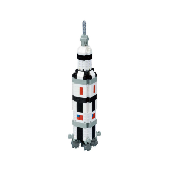 Nanoblock - Saturn V Rocket 370 pcs