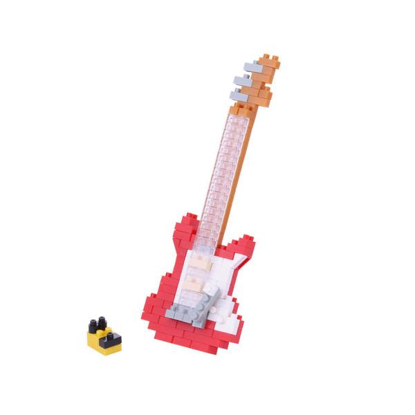 Nanoblock - Electric Guitar Red 160 pcs Level 2