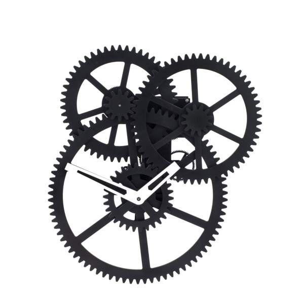 Wall Triple Gear Clock