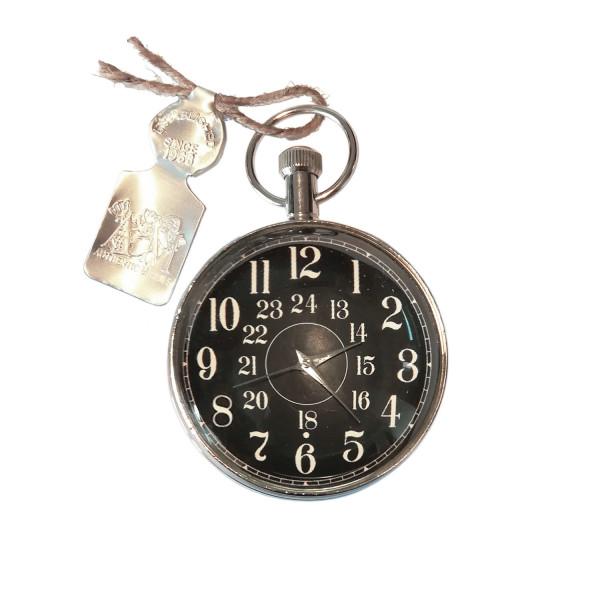 Taschenuhr Eye of Time, Silber