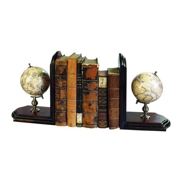 Globus - Buchstützen Himmel- & Erdglobus