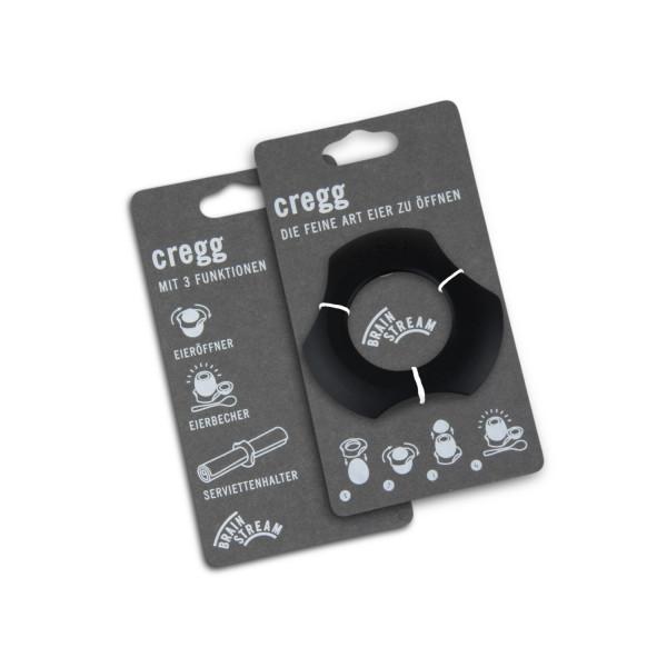 cregg - Die feine Art Eier zu öffnen - schwarz