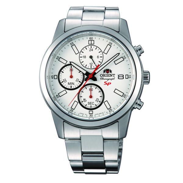 ORIENT Sports Chronograph, Weiß