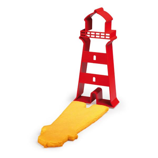 Cookie Cutter rot - Leuchtturm