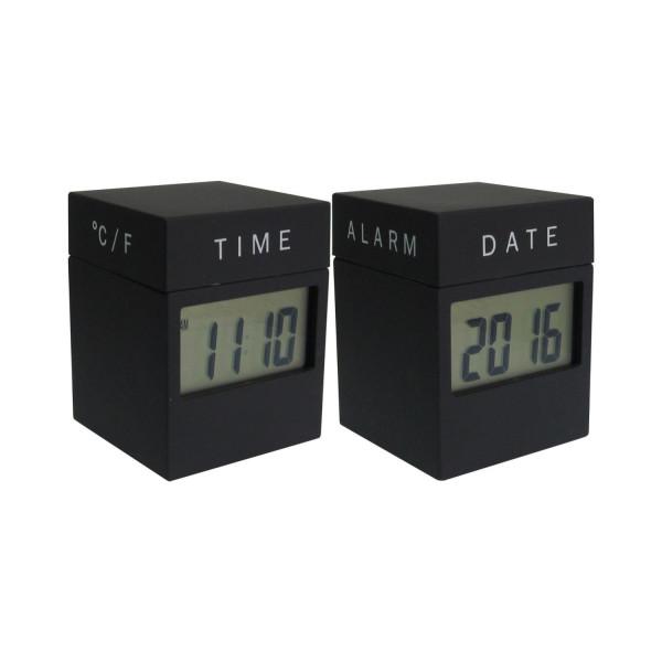 4-in-1 Twist Clock mit LED Display