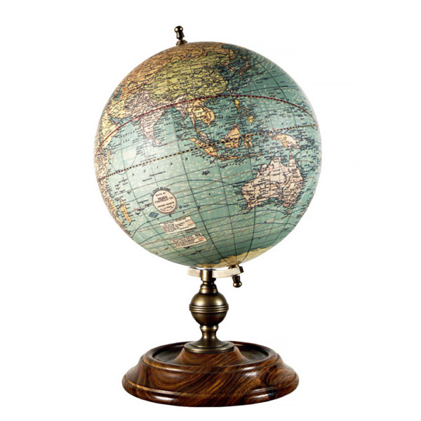Globus 1921 USA Globe von Weber und Costello