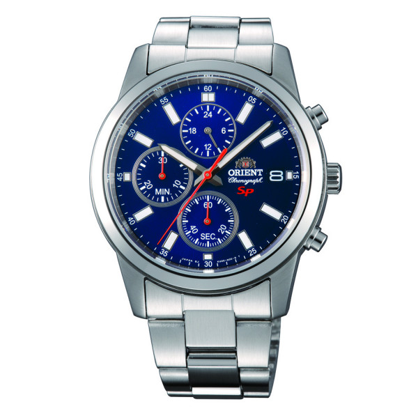 ORIENT Sports Chronograph, Blau