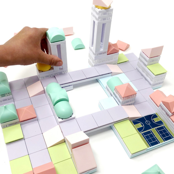 ArckitPlay Cityscape + Kids Architectural Mode