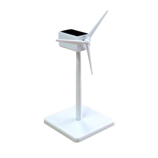 Solar Windgenerator weiß - 16 cm