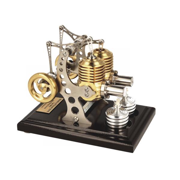 Stirlingmotor Big Power Station dunkel BHB12