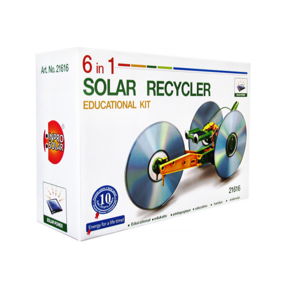 Solar Recycler 6 in 1