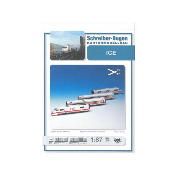 Kartonmodell ICE 1:87