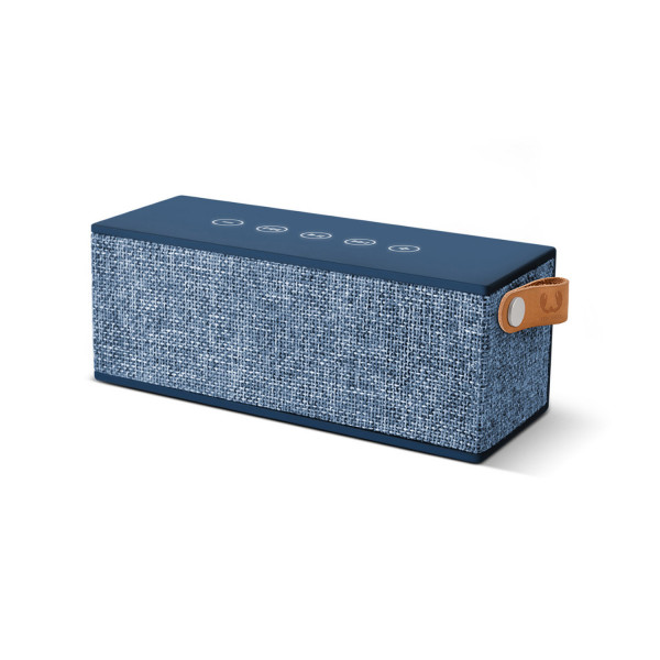 FRESH N REBEL Rockbox Brick Fabriq Edition Blau