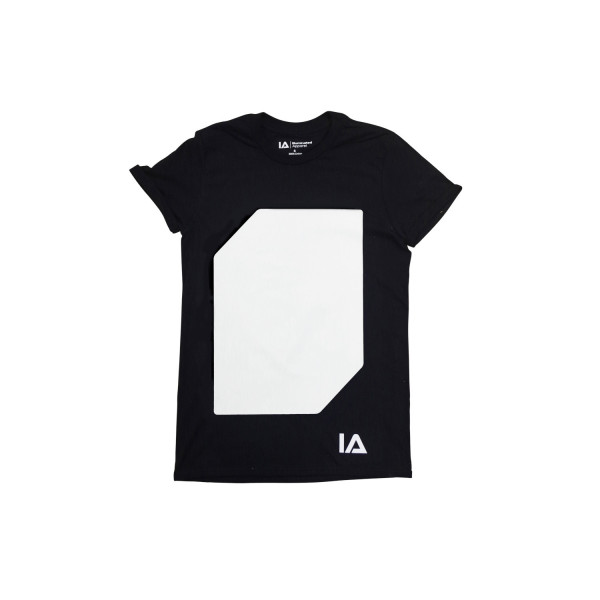 Interactive Glow Shirt + Keyring Black, 5-6 Years