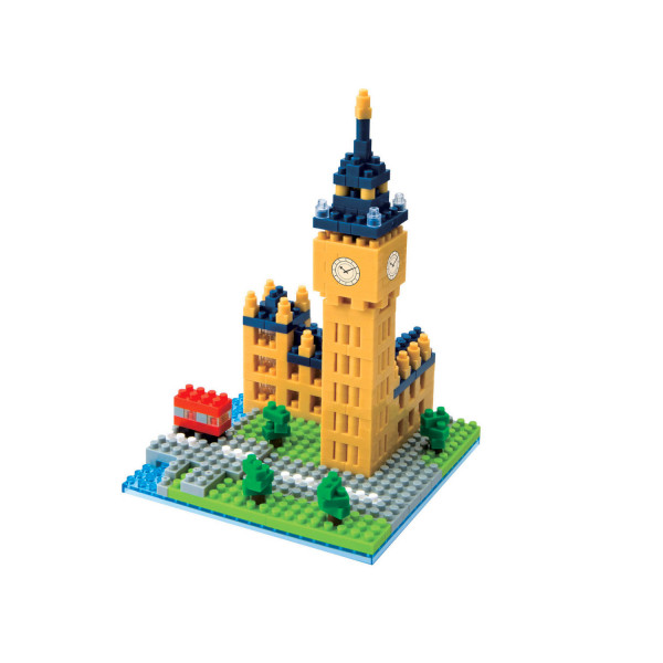 Nanoblock - Big Ben 460 pcs Level 2