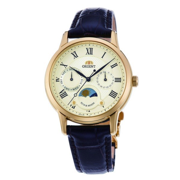 ORIENT Classic Sun & Moon, Gold/Champagner