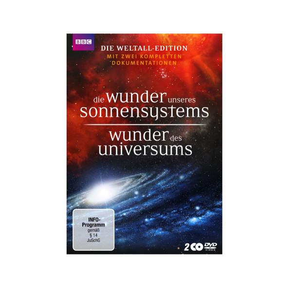 DVD Die Wunder unsere Sonnensystems/ Wunder des Universums