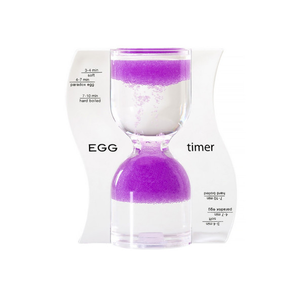 PARADOX EGG TIMER, light purple