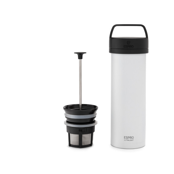 ESPRO Ultralight Coffee Press 475ml Chalk White