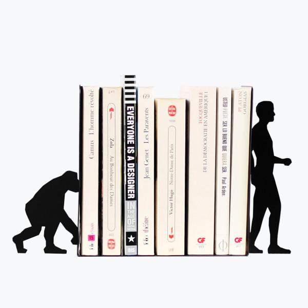 Evolution Bookends Black