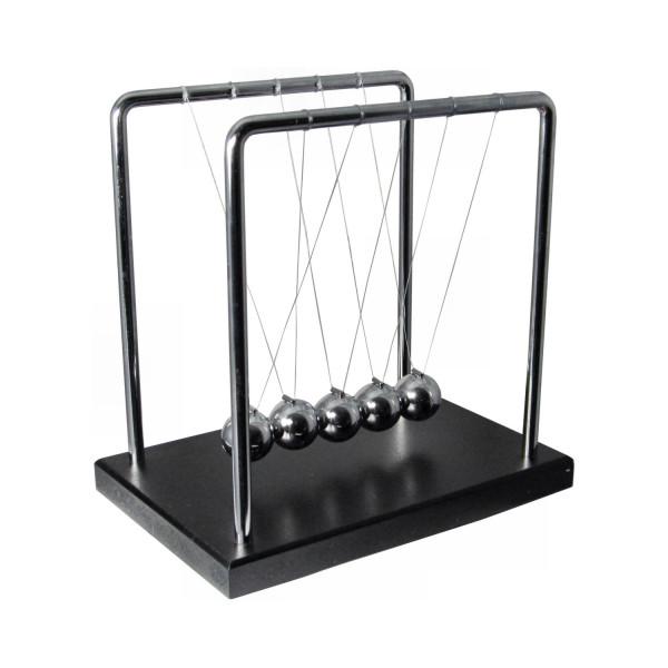 Balance Ball - Newtons Cradle - mit Sockel groß