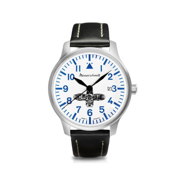 Messerschmitt BOXER-Uhr Weiss