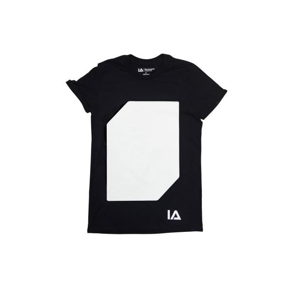 Interactive Glow T-Shirt incl. Keyring Black, XL