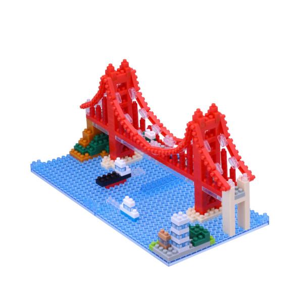 Nanoblock - Golden Gate Bridge 380 pcs