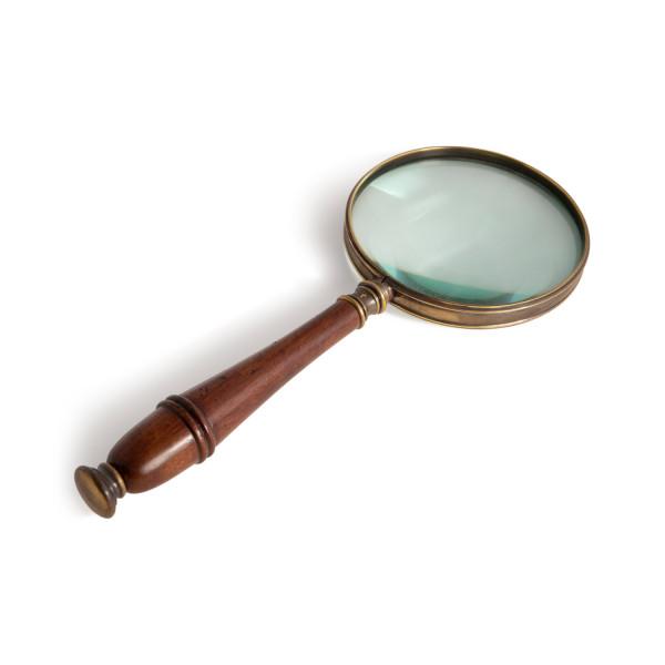 Vergrößerungsglas - bronziert
