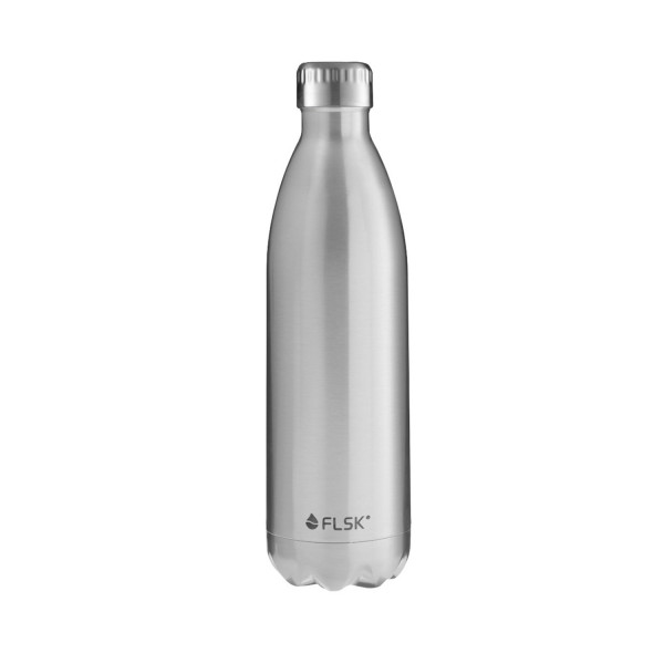 FLSK Isolierflasche - silber 1000 ml