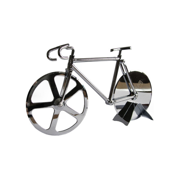 Fixie Pizza Cutter - Silber