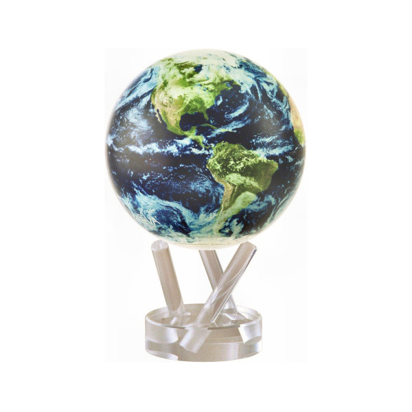 Mova Globe 4,5 (12cm) -Satellite View with Clouds