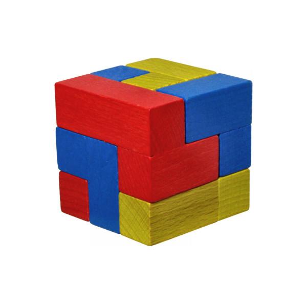 Ebert Puzzle Cube - Holz